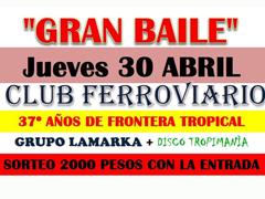 baile club ferroviario